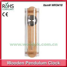 2013 Fashion design decorated item pendulum clock