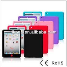 colorful soft durable new silicon case for ipad mini