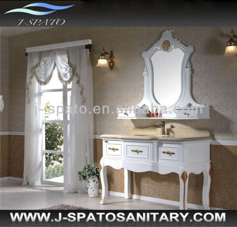 Pas cher salle de bains vanit coiffeuse avec miroir for Meuble coiffeuse avec miroir pas cher