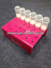 Hot Sale Pink Acrylic Cake Pop Stand/Custom Cake Pop Stand