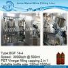 PET bottle vinegar filling machine / equipment for low capacity