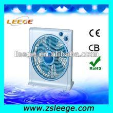 12'' Five Blue Blades Pedestal Box Fan
