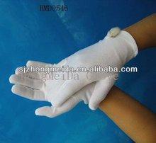 evening party meeting elegant white cotton gloves