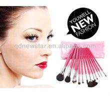 12 pcs daily makeup big brush cosmetics burshes set