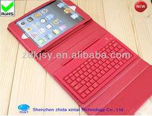 Wireless Removable Bluetooth Keyboard Folio Case For iPad mini