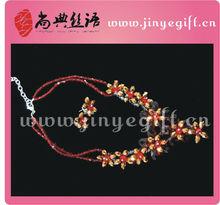 de verano nuevo diseño de joyas de diamante ruby collar joyería ojo turco