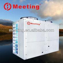 High cop split sanitary hot water inverter heat pump Air to air water double Source Floor heating heater solar Heat Pump
