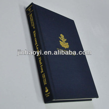 High Quality Fabric Cover Books Printing
