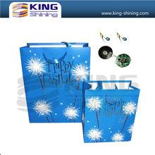 custom promotion bag with led light