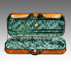 Oblong Shaped Wooden Double Violin Case