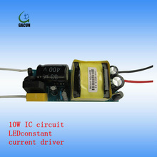 10W LED constant current driver power supply with IC circuit