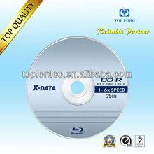 25GB 6X Blu ray disc High Quality