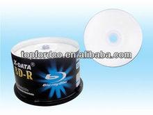 25GB 6X White Inkjet Printable Blu ray Disc