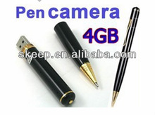 Camera Pen, 4GB , Camera High Resolution ,USB Camcorder Pen camera mini DV