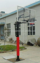 Inground square Pipe basketball stand/system/hoop