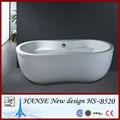 Más cómodo de bañera de plástico para adultos vertical hs-b520 bañera