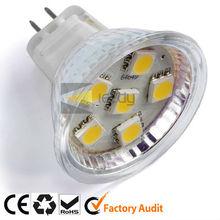 MR16 6smd 5050 LED free standing spotlight
