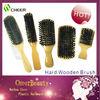 Wooden hair brushes /professional wooden hair brushes wholesale/hair brush for black men