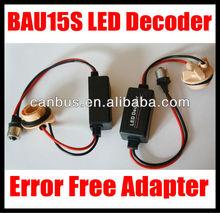 BAU15S LED Bypass Wiring Decoder No Error Warning Flash Load Resistors