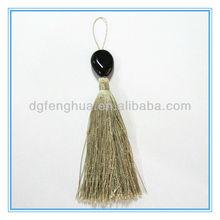 2013 Fashion silk key Tassel with bead &Tassel