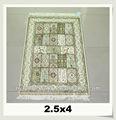 fabricante chino hecho a mano precio de oración musulmán alfombra de seda