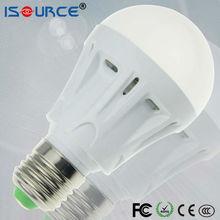 LED Bulb e27 3W 5W plastic low cost high quality