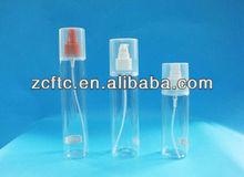 Factory Original! 100ml Transprent Plastic Perfume Spray Bottle/PET bottle (customized for your brand, logo, sticker)