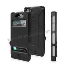 Man prefer black armor style tpu mobile phone case for i5