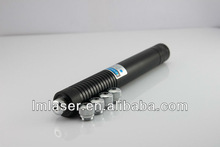 Cheapest 450nm 1000mW (1W ) focusable burning true blue laser pointer torch with star cap +GOGGLES