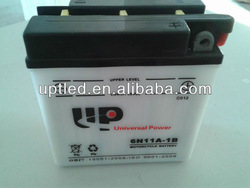 Standard Dry Charge Rechargeable Storage Motorcycle Battery 6N11A-1B (6V11AH)