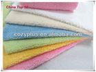 China Polyester velvet fabric Suppliers Cheapest Cotton Velvet Polyester terry cloth blanket