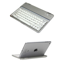 protective aluminum keyboard case for new ipad 2 3 rd