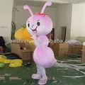 la hormiga de adultos traje de la mascota ropa de fiesta de disfraces en movimiento