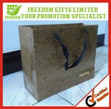 Promotional Printed Logo Shopping Custom Paper Bag