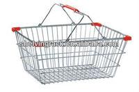New Hot 2013 XYB-031Y S16L Steel Chrome Supermarket Shopping Basket