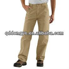 unisex cheap TC and 100% C khaki pants uniform
