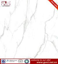 white micro crystal polished porcelain tile