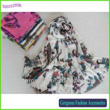 Viscose scarf rayon shawl