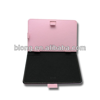 Hot sale!OEM 7inch leather case for tablet pc,with stand case,various color