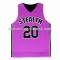 personalizado de baloncesto jersey de color rosa