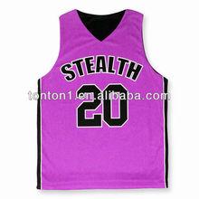 customized basketball jersey pink