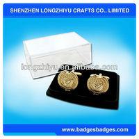 New Japanese cufflinks,charming gold plated cufflinks