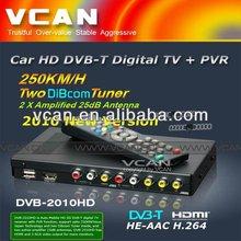 DVB-T mpeg4 avc /h.264 tv receiver DVB-T2010HD-427 Car DVB-T box MPEG4/H.264, PVR