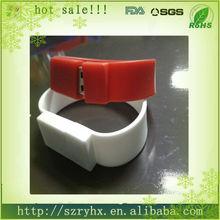 Cool rubber bracelet ub drive usb