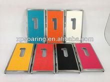 Snake skin chrome case back cover for Nokia Lumia 920