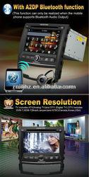 Auto Radio Monitor 7 inch for SsanngYongKorando with GPS Can-bus USB SD MMC RDS Ipod BT