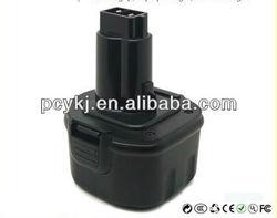 Drill Battery/power tool battery for 9.6V Dewalt DW952 DW955 DW955K DW955K-2
