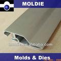 Perfil de aluminio anodizado par manija del refrigerador
