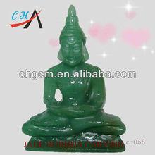 Jade Lord Buddha Carving Spiritual Lord Figure Gemstones