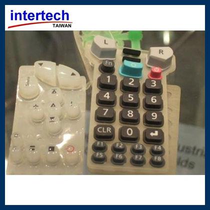 Silicone rubber compression molding